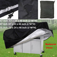 "57"" 67 75"" Waterproof BBQ Cover Gas Barbecue Grill Protection Outdoor Anti-UV US"