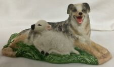 Australian Sheep Dog w / Sheep- Lot Ah42