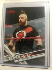2017 Topps WWE Then Now Forever Silver Parallel #136 SHEAMUS #'d/25