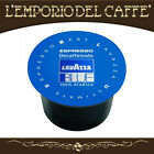 400 Capsule Cialde Caffè Lavazza Blue Blu Espresso Decaffeinato - 100% Originali