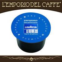 100 Capsule Cialde Caffe Lavazza Blue Blu Espresso Decaffeinato - 100% Originali