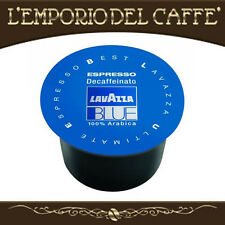 100 Capsule Cialde Caffè Lavazza Blue Blu Espresso Decaffeinato - 100% Originali