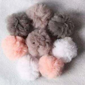 Soft Baby Bed Canopy Ball Nursery Bed Decor Art Decor Colorful Hanging Ball SL