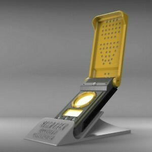 Discovery Communicator + Stand - Star Trek - Cosplay - 3d printed + LEDs