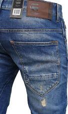 G-Star Arc 3D Slim Medium Aged Destroyed Herren, Jeans Hose. Größe: 32/32. Neu