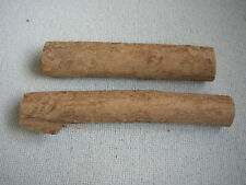 2 Yew wood log Blanks for Turning Carving Craft 24-28cm x 4.2-5.9cm Felled 2012