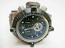 Invicta Mens Subaqua Noma IV 16142 Watch Black Chronograph Swiss Made