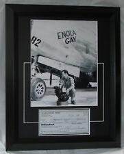 "TOM FEREBEE SIGNED ""BOMBADIER"" ENOLA GAY CERTIFIED AUTHENTIC AFTAL DEALER #199"