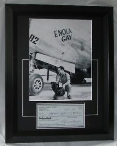 "TOM FEREBEE SIGNED ""BOMBADIER"" ENOLA GAY CERTIFIED AUTHENTIC AFTAL DEALER #199"
