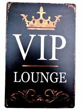 VIP  METAL TIN SIGNS vintage cafe pub garage decor retro kitchen