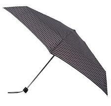 Totes Miniflat mince noir & blanc ondulé dots imprimer umbrella 8072IEF brand new