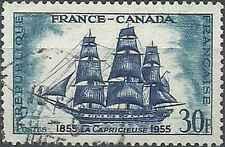 Timbre Bateaux France 1035 o lot 19140