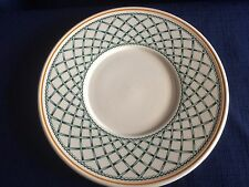 Villeroy & Boch Basket tea saucer (centre is rubbed)