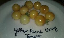 Yellow Peach Cherry Tomato Seeds  COMB S/H SEE OUR STORE