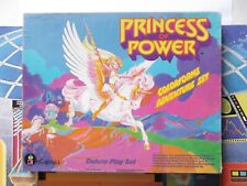 Vintage She-Ra Princess of Power COLORFORMS DELUXE giant box, complete,motu
