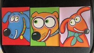 Fat cat 12 Dee-Signer Blank Cards (3 Designs) Blank Inside w/Envelope