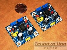 x2 NE555 LM555 Adjustable Frequency Square Wave Generator Assembled Module USA