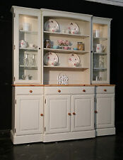 Large Ducal Pine Farmhouse Kitchen Welsh Dresser Shabby Chic F&B free delivery