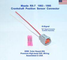 Mazda RX-7 Crankshaft Crank Position Sensor Connector Plug Repair Pigtail 93-95