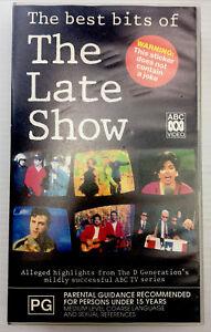 The Best Bits The Late Show DGeneration VHS Cassette Tape PAL PG ABC Video