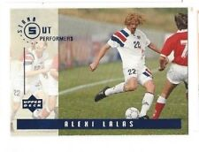 ALEXI LALAS Rare OUTSTANDING PERFORMERS UPPER-DECK '94 WORLD CUP CARD with USA