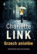 Grzech aniolow, Charlotte Link,  polish book, polska ksiazka