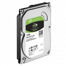 Seagate HDD Internal 1 TB BarraCuda SATA 3.5 Computer Hard Disk Drive - Silver