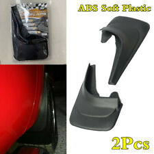 2Pcs Car Mud Flaps Mudguards Splash Guards ABS Soft Plastic Fender Protect Black