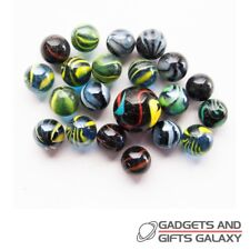 Stripy Toons Classic Marbles Retro Game Glass Kids Childs Toys Games