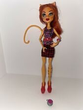 Toralei Stripe Coffin Bean Monster High COMPLETE OUTFIT with cauldron
