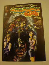 Cartolina RIMINICOMIX 2005 con RAT MAN DIABOLIK TEX BATMAN ecc in Asta Dog Dead