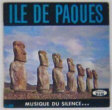 Ile de Paques 45 tours Musique du silence