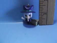 """Pangya Golf Game Anime 1.75""""""""in Key Chain Girl  Dressed up Like a Witch Cute!"""