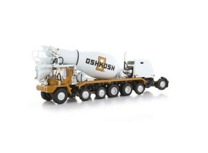 "Oshkosh S-Series Cement Mixer - ""OSHKOSH"" - 1/50 - TWH #075-01212"