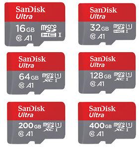 SanDisk MicroSD PRO Card 16GB 32GB 64GB 128GB 400GB 256GB 512GB 1TB Memory Card
