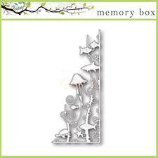 Memory Box DEEP SEA CORNER thin metal die, jellyfish, ocean, made in USA