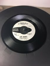 Len Barry Spread It On Like Butter & Put Out The Fire 45 Record Promotion Copy