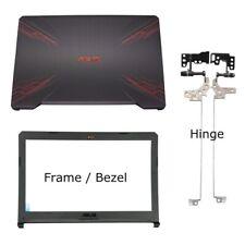 More details for fits fr asus fx504g fx504gd fx504ge fx504gm back lcd lid rear cover hinges bezel