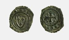 pci5936) BRINDISI  Carlo I d'Angio' (1266 - 1282) Denaro con Stemma SP 40