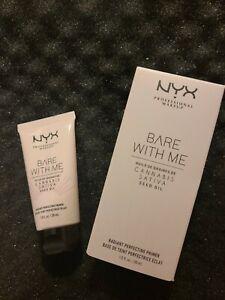 NYX Bare With Me Cannabis Sativa Radiant Primer - 1 oz Brand New