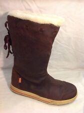 RIPCURL Brown Ankle Leather Boots Size 39