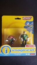 Fisher Price Imaginext Justice League Green Lantern & Bd'g Figure NEW UNOPENED!