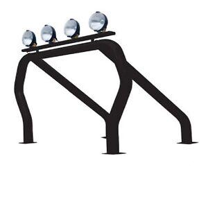 Go Rhino 9009560SSB Black Modular Single Bed Bar/Single Kicker for Chevrolet C10