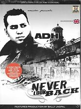 BALLY JAGPAL-NEVER LOOK BACK-2DISC PACK CD & DVD - LIVE PERFORMANCE & INTERVIEWS