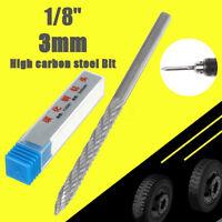 "3mm 1/8""Tire Puncture Repair Carbide Cutting Reamer Drill Bit Carbon Steel  HOT"