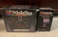 [New in Box] Nishika N8000 35mm 3D Stereo Camera + Flash L Light From Japan