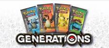 36x POKEMON TCG ENGLISH GENERATIONS Booster Packs = Booster Box