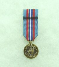 United Nations medal, miniature, Cambodia, UNAMIC, US DoD approved for wear