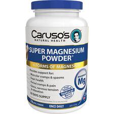 CARUSO'S SUPER MAGNESIUM POWDER 250G ORAL POWDER FOR PERIOD CRAMPS & PAIN