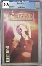 Dazzler: X-Song #1 CGC 9.6 Bill Sienkiewicz Variant Cover!